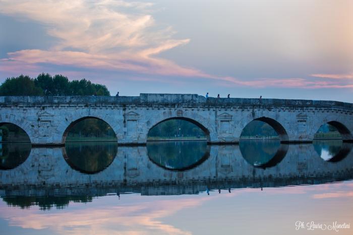 rimini-ponte-di-tiberio-sera